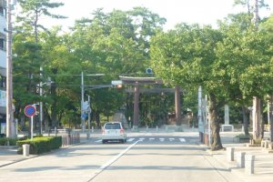 Entranceway to Nakamura Koen.