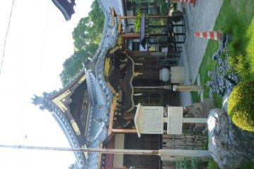Myogyoji Temple, birthplace of Kato Kiyomasa.