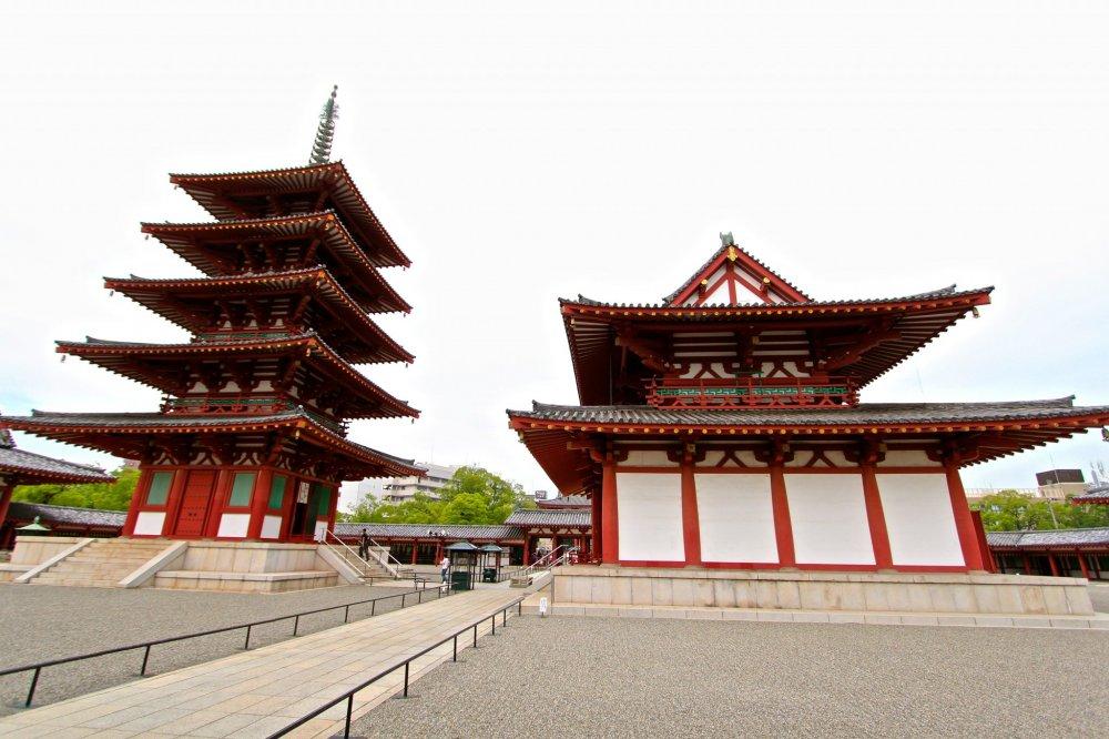 วัดชินเทนโนจิ (Shintennoji Temple)