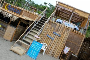 Blue Moon Spa is a terrace space nestled on the 2nd floor of the Blue Moon Beach House.