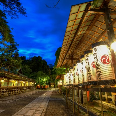 Yasaka Shrine in the Early Evening