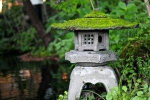 สวนแบบญี่ปุ่นอันร่มรื่น