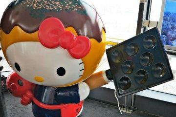 <p>四层的章鱼小丸子版的Hello Kitty</p>