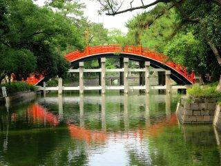 住吉大社太鼓桥