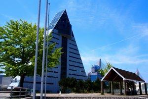 The A-shaped Aomori Prefecture Tourist Center ASPAM