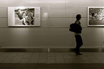 แกลเลอรี่ใต้ดินสถานีโตเกียว