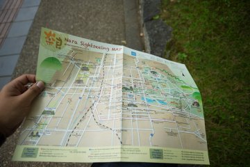 <p>Local map from the information counter</p>
