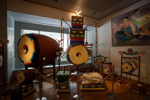 Drum instruments from Korea