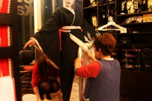 The art of kimono dressing
