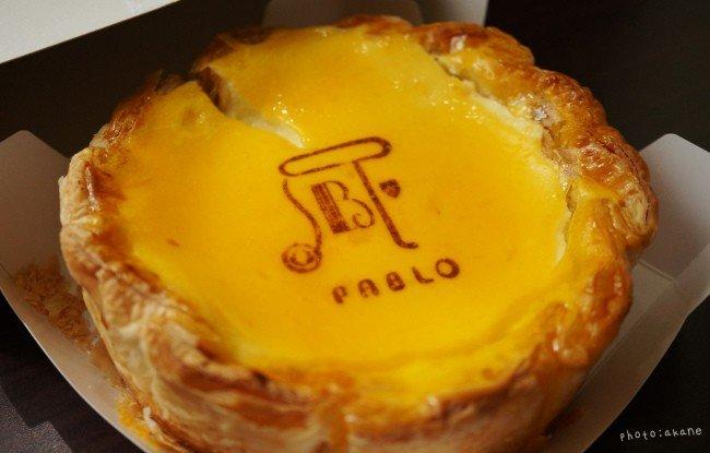 <p>大阪-「Pablo」人氣現烤起司塔 值得等待的美味&nbsp;</p>