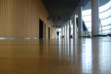 <p>On an upper floor</p>