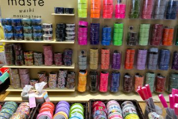 <p>Washi tape come in playful designs and can be used for scrapbooking or various crafting activities.</p>