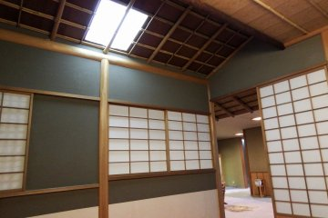 <p>Inside the Tea House</p>