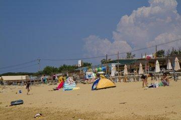 Пляжные палатки сейчас в моде