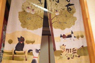 <p>Maneki&nbsp;Neko is filled with cat decorations</p>