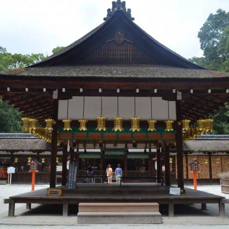 Kamo-jinjaศาลเจ้าเก่าแห่งเกียวโต