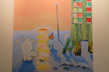 Moomin Exhibit in Hiroshima