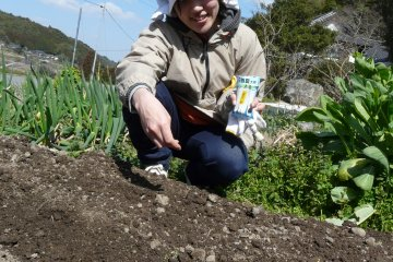 <p>Some hands-on farming experience training</p>