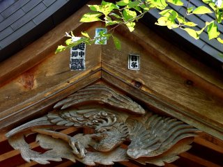 Beautiful wood carving