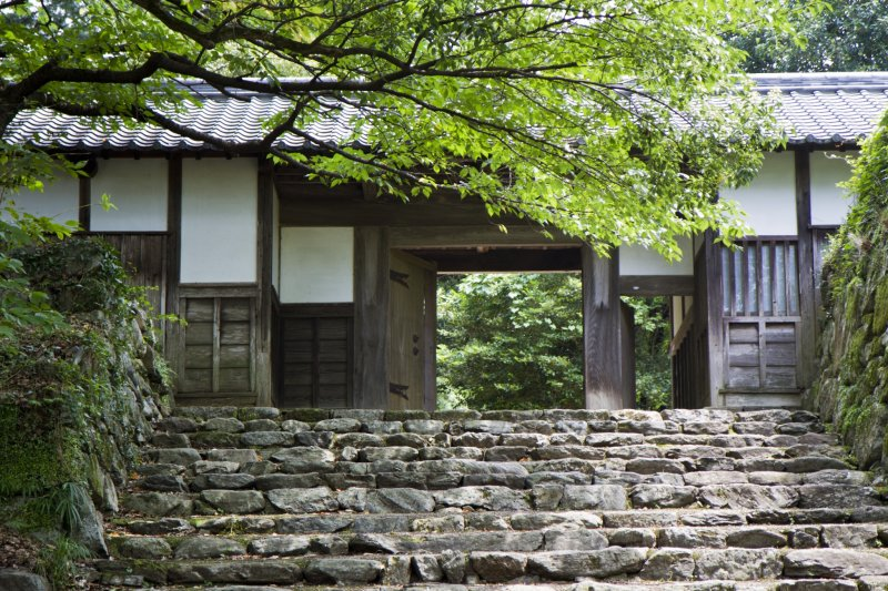 <p>Nagayamon was the gate built next to the plum (ume) gardens, along the horse riding grounds</p>