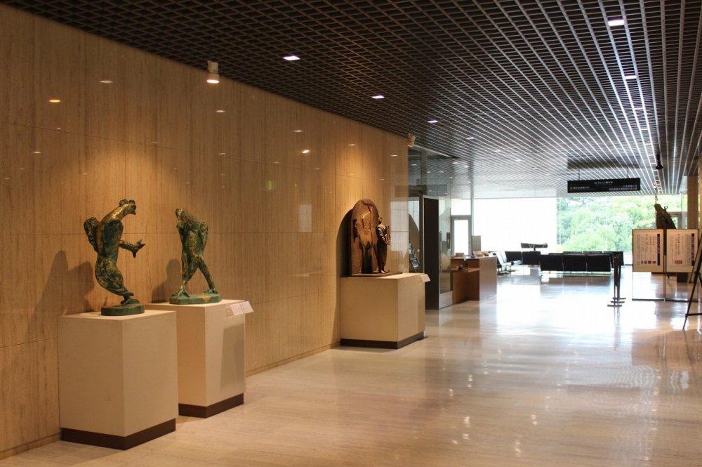 미술관 2층 상설전시장, '컬렉션전'으로 불리고 있다
