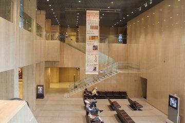 지하 1층에는 특별 전시장이 있다