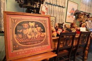 พิพิธภัณฑ์เท็ดดี้แบร์ในย่านคิตาโน รวบรวมตุ๊กตาหมีเท็ดดี้จากทั่วโลกมาไว้ที่นี่