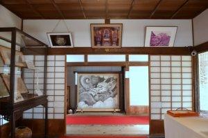 Interior of Unryuin Temple