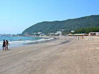 You're going to love long walks on the beach at Isshiki Beach Hayama