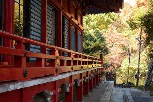 园中的神社