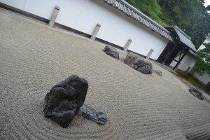 การจัดวางหินอย่างลงตัว