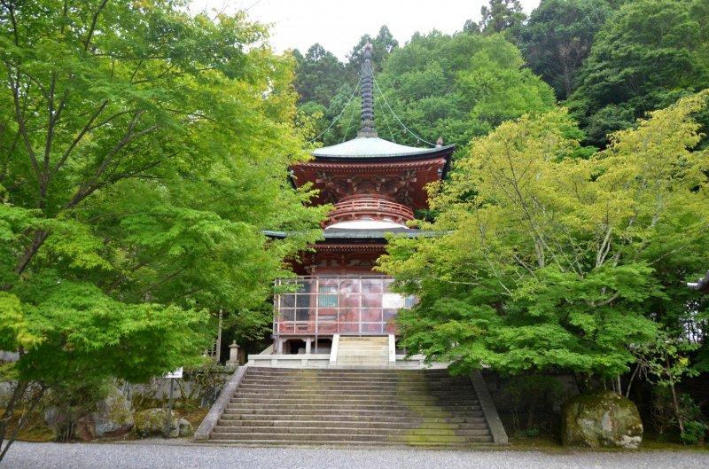 <p>Tahoto (Japanese pagoda)</p>