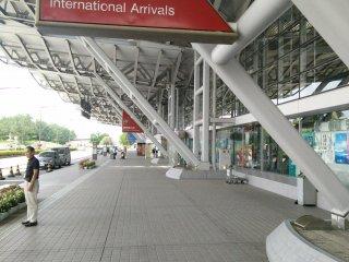 터미널 앞