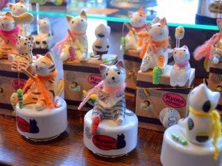 Cute music boxes that make good souvenirs!