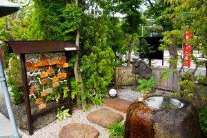 Salah satu kuil untuk Tujuh Dewa Keberuntungan.