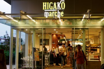 <p>The new Higako marche at Higashi-Koganei Station</p>