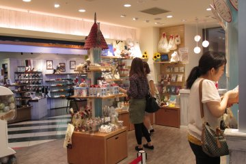 <p>The Moomin&nbsp;Stand in Tennoji is located in Mio Mall</p>