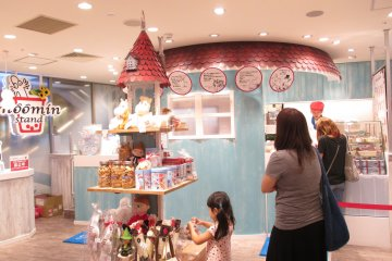 <p>The stand is designed to look like Moomin&nbsp;House</p>