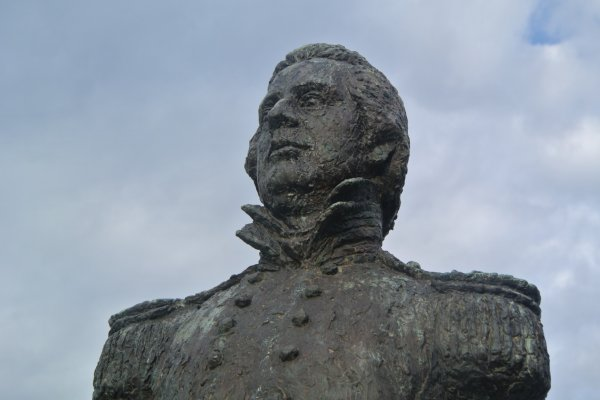 Commodore Matthew Perry, who began negotiations which led to Japan opening up to the outside world