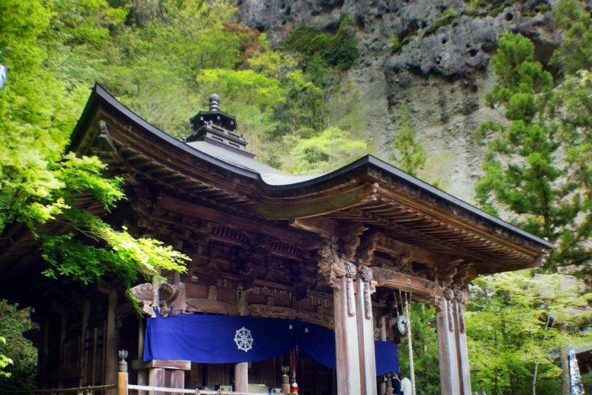 The Daishi-do at Iwaya-ji