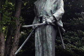 The Grave of Miyamoto Musashi