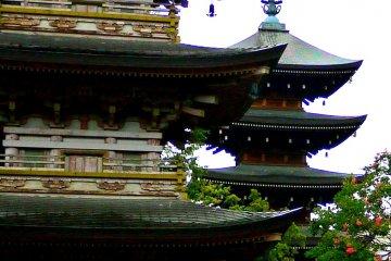 Ngày mưa ở chùa Chozen
