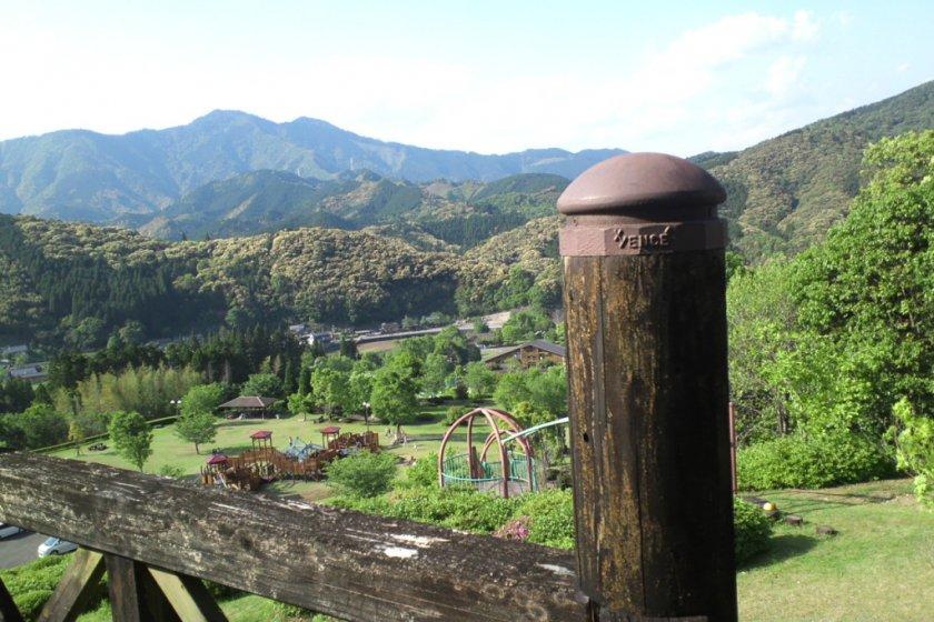 View from Bokusui Kouen
