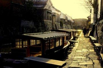 คลองโอะมิ-ฮะชิมันในฤดูหนาว