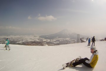 <p>Perfect slopes and fantastic view of Mount Yotei</p>
