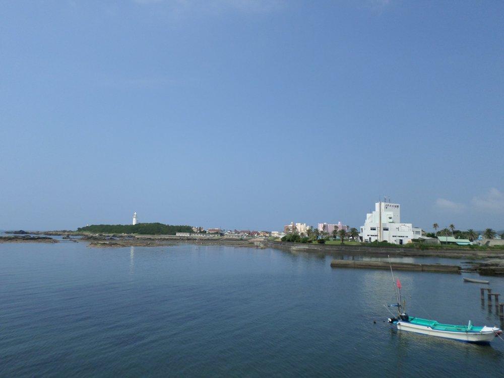 Vùng Shirahama ở Minamiboso, Chiba.
