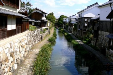 Summer at Omihachiman Canal