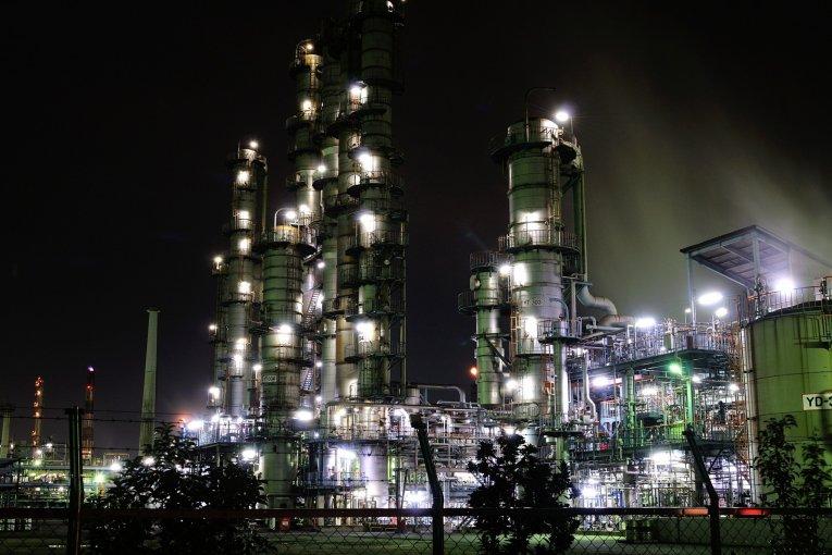 魅惑の工場夜景