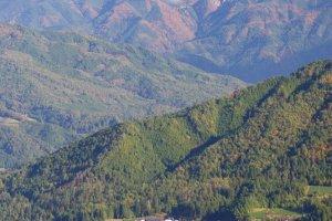 Higashishirakawa Village to Mt Ontake