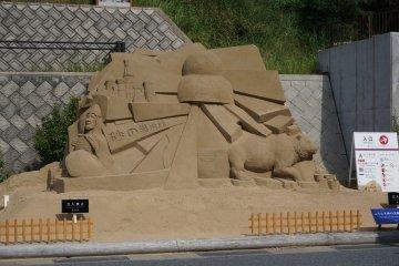 <p>พิพิธภัณฑ์ทราย theme Russia</p>
